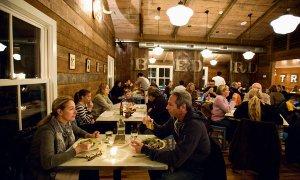 Một nhà hàng tại New York